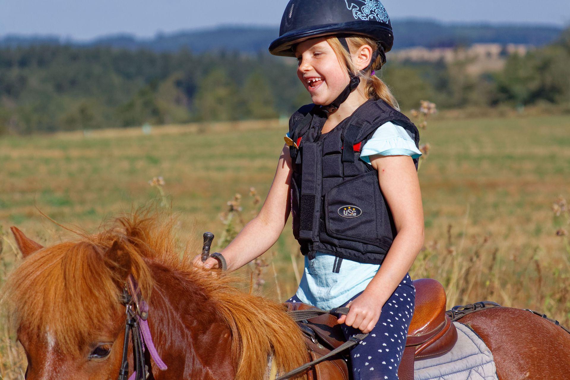 Víkend na koni je vhodný i pro děti