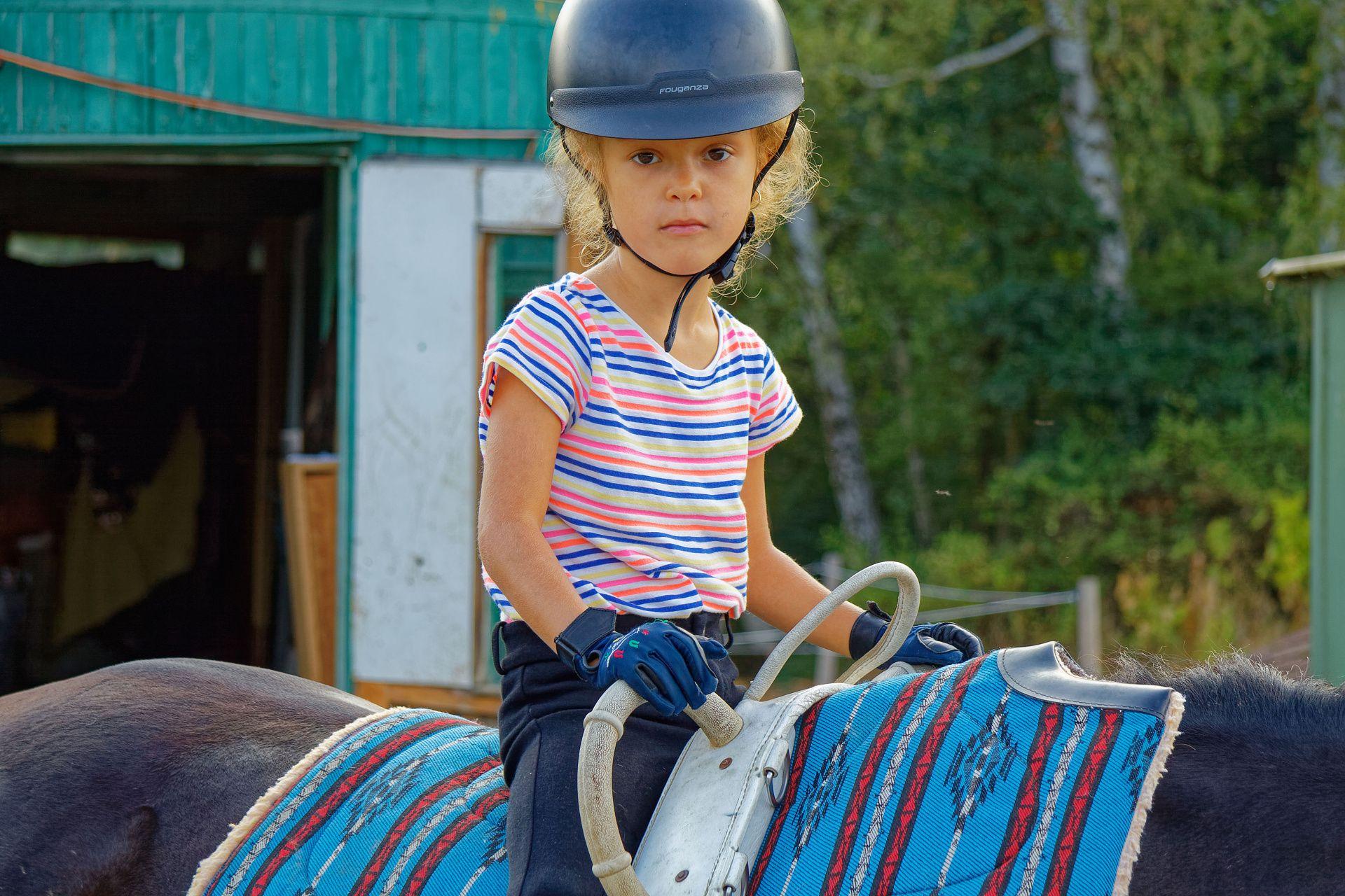 Dětské tábory na koních